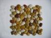 garden yellow mesh polished pebble