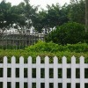 wpc park fencing|white wpc fence for garden|decorative wooden fence