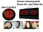 Alarm display system for 10 VIP rooms. Display showing both ROOM NUMBER and TABLE or BED NUMBER if guest press the call button.