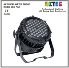 LED PAR CAN 54*3W RGBW LED WASH IP 65