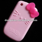 new fashion silicone case for blackberry(hello kitty)