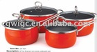 Enamelled Carbon Steel Cookware Set