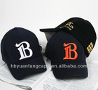 6 panel 3d embroidery fitted cap