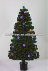 LED Fiber Optic Santa Christmas Tree artificial christmas tree