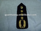 military embroidery epaulet