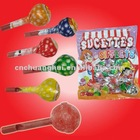Fruit Lollipop with Whistle