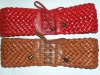 lady's plaited waist belt