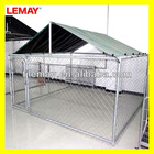 Metal chain link dog cage wholesale 8' x 8' x 4'
