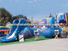 inflatable tunnel course