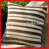 fashion stripe design canvas chair cushion