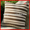 fashion stripe design canvas chair cushion
