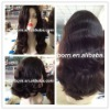 Fashional european hair jewish wig with body wave