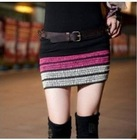 Fabulous Colorful Stripe Tunic Skirt CP12092704