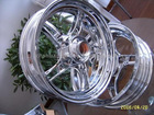 chrome scooter rim