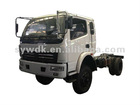 Right hand drive 4x4 truck chassis