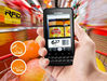 android barcode reader with gps rfid wifi/3g (IP65)