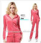 New USA design velour tracksuits for women