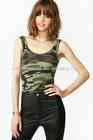 Hot Selling Fashion Woman's Camo Tank/ top