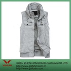 cotton gray casual vest