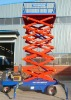 aerial angle working platforms trailer wheel lift