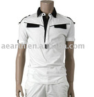 Fashion men polo shirt with contrast panels
