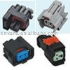 2P female and male delphi honda toyata ev6 auto fuel injector connector