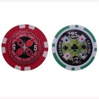 sticker poker chips