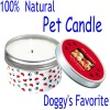 Natural Dog Soya Candle SY8250