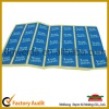 Glossy paper adhesive label