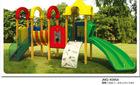 JMQ-K095A kids wood playground outdoor,kids train outdoor playground,kids outdoor playground items