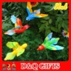 plastic colorful bird garden stake