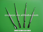 Stainless steel nailfile/nail trimmer/cuticle pusher
