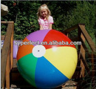 Children PVC Play Toy Ball Popular Outdoor Ball non-tonix Inflate Ball EN71