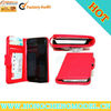 Wallet Shaped Mobile cases with plastic shell for iPhone 5
