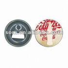 Printed Button Promotional Bottle Openers