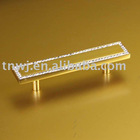 Zinc crystal furniture handles