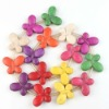New wholesale exotic jewelry with Colorful Butterfly Loose Gemstones Turquoise Beads for necklace 111733