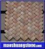 Pink onyx mosaic