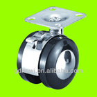50mm Zinc alloy furniture caster wheels with brake(FC47A)