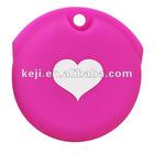 heart designer key pouch
