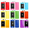 Wholesale-touch screen digitizer replacement for iphone 4 back glass housing glass - colorfull housing kit