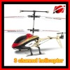 Metal 3 channels rc helicopter with gyro rc helicopter toy (W909-8)