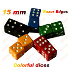 15MM Colorful Square Dice