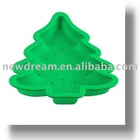 christmas tree silicone chocolate mold