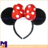 Fashionable Mk bowtie hairband,plush head band