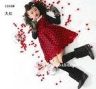 2011 fashion winter Childrens cotton clothes, kid dress-1016