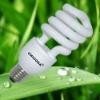 Hot sale 12MM Half Spiral Energy Saving Lamp