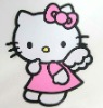 Promotional Hello kitty soft pvc coaster /OEM/small order is acceptable