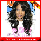 virgin Brazilian hair full lace wig