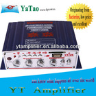 YT-V8 Professional small car amplifier / Professional small car amplifier with FM
